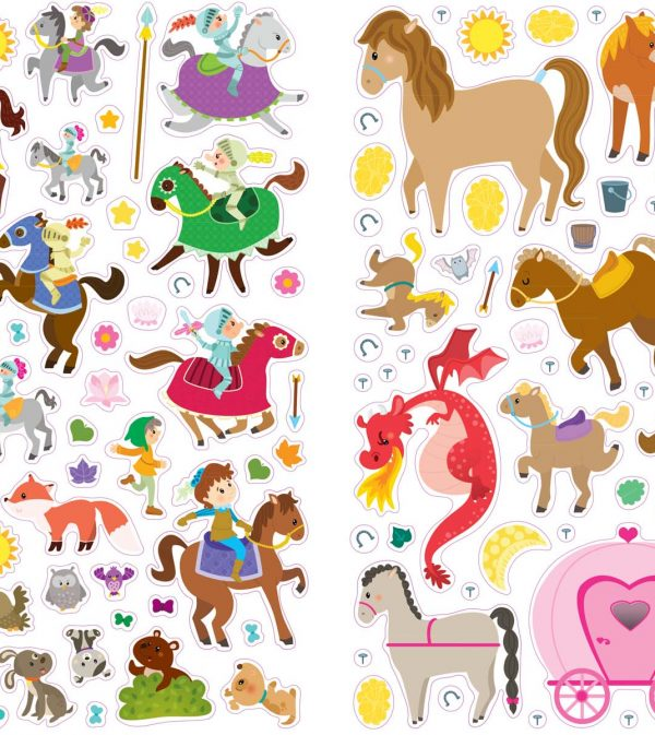 Stickers Princess RUS .indd